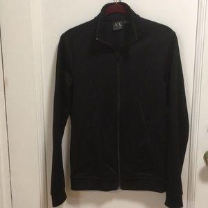 Armani exchange, sweat jacket.